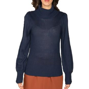 Vêtements Femme Pulls Deeluxe Pull AUDE Dark Blue