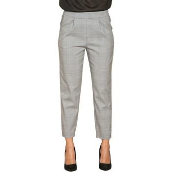 Vêtements Femme Chinos / Carrots Deeluxe Pantalon NADEGE Check