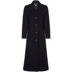 Vêtements Femme Manteaux Anastasia Manteau de cachemire simple d'hiver Black