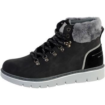 Chaussures Femme Bottines The Divine Factory Boots CI3862 Noir