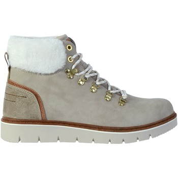 Chaussures Femme Bottines The Divine Factory Boots CI3862 Beige