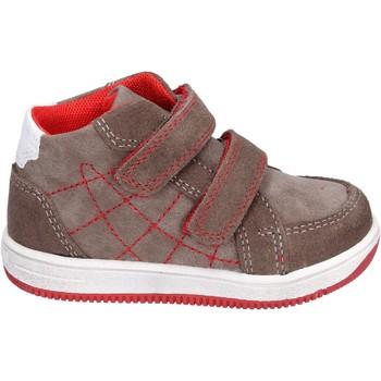 Chaussures Garçon Baskets montantes Didiblu BK202 marron
