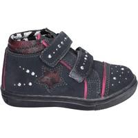 Chaussures Fille Baskets montantes Didiblu BK203 gris