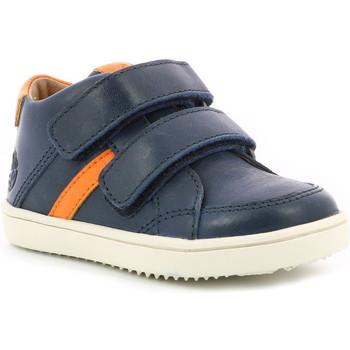 Chaussures Garçon Baskets montantes Aster Woukro MARINE