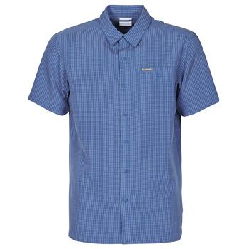 Vêtements Homme Chemises manches courtes Columbia LAKESIDE TRAIL Bleu