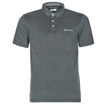 Vêtements Homme Polos manches courtes Columbia NELSON POINT POLO Gris