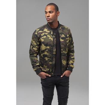 Vêtements Homme Parkas Urban Classics Parka Urban Classic camo light militaire