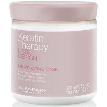 Beauté Femme Soins & Après-shampooing Alfaparf Lisse Design Keratin Therapy Rehydrating Mask  200 ml
