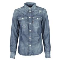 Vêtements Femme Chemises / Chemisiers G-Star Raw KICK BACK WORKER SHIRT WMN L\S Bleu Medium