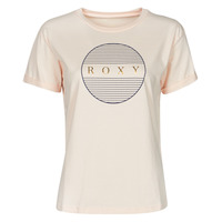 Vêtements Femme T-shirts manches courtes Roxy EPIC AFTERNOON CORPO Rose