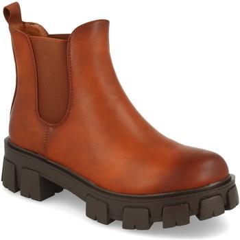 Chaussures Femme Bottines Ainy 2052 Camel