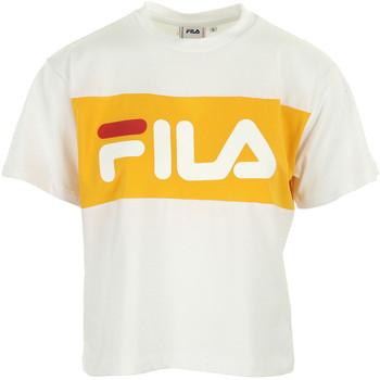 Vêtements Femme T-shirts manches courtes Fila Allison Tee Wn's blanc