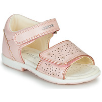 Chaussures Fille Sandales et Nu-pieds Geox B VERRED Rose