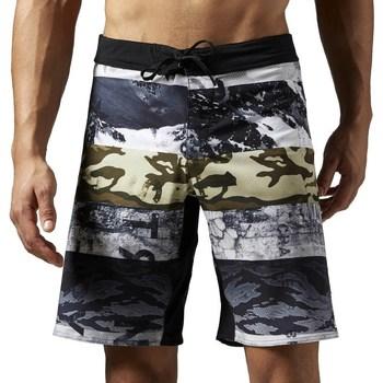 Vêtements Homme Shorts / Bermudas Reebok Sport One Series Sublimated Blanc, Gris, Graphite