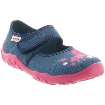 Chaussures Fille Chaussons Superfit 282 Bleu