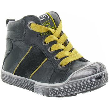 Chaussures Enfant Baskets montantes Bellamy ISIO Noir
