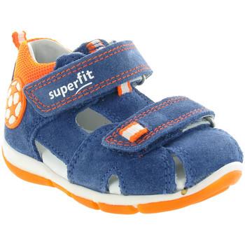 Chaussures Enfant Sandales et Nu-pieds Superfit 142 Bleu