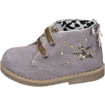 Chaussures Fille Bottines Didiblu BK206 gris