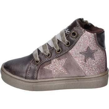 Chaussures Fille Baskets mode Asso sneakers cuir synthétique bronze