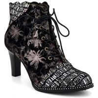 Chaussures Femme Bottines Laura Vita Alcbaneo 2271 Noir