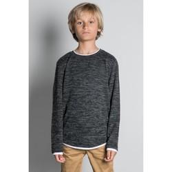 Vêtements Garçon T-shirts manches longues Deeluxe T-Shirt MOHANSON Dark Grey Mel