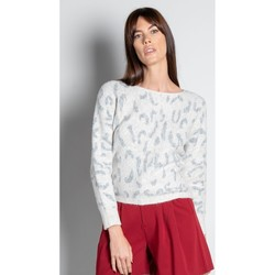 Vêtements Femme Pulls Deeluxe Pull COLOMBA Leo Cream
