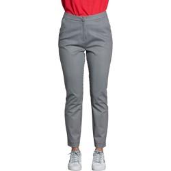 Vêtements Femme Chinos / Carrots Deeluxe Pantalon EVERY Black / White