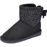 Chaussures Fille Bottines Asso BK232 noir