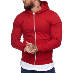 Vêtements Homme Sweats Cabin Veste à capuche pour homme Veste 1076 rouge Rouge