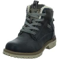 Chaussures Fille Bottes de neige Mustang 5051-605 Gris