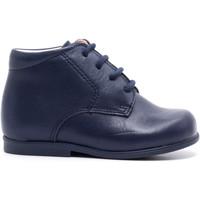 Chaussures Enfant Boots Boni & Sidonie Chaussure bébé premier pas en cuir - BABY Bleu Marine