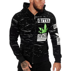 Vêtements Homme Sweats Cabin Veste à capuche fashion Veste 1087 noir Noir