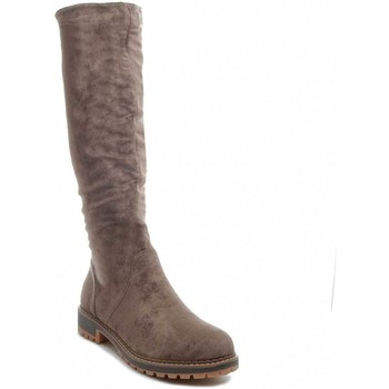 Chaussures Femme Bottes ville Kylie 67541 TAUPE