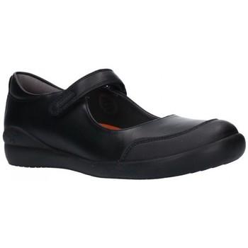 Chaussures Fille Ballerines / babies Biomecanics 181121 Niña Negro noir