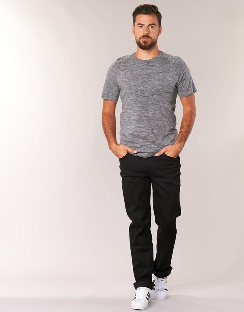 Vêtements Homme Jeans droit Lee BROOKLYN STRAIGHT Noir