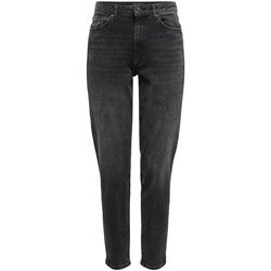 Vêtements Femme Jeans slim Only ONLVENEDA LIFE MOM JEANS noir