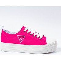 Chaussures Femme Baskets basses Guess Sneaker Brigs Rose