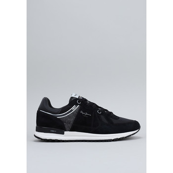 Chaussures Homme Baskets basses Pepe jeans TINKER Noir