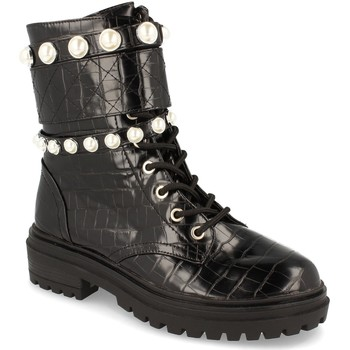 Chaussures Femme Bottines Buonarotti 1CE-0414 Negro