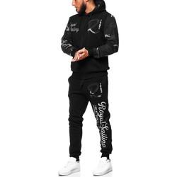Vêtements Homme Pantalons de survêtement Violento Ensemble jogging camouflage Survêtement 3677 noir Noir
