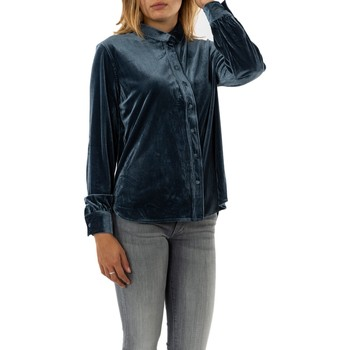 Vêtements Femme Chemises / Chemisiers Molly Bracken t1297h20 blue bleu