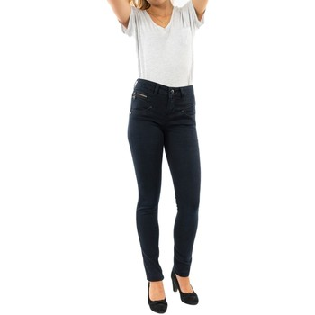 Vêtements Femme Jeans skinny Freeman T.Porter alexa high waist f0324 shadow bleu
