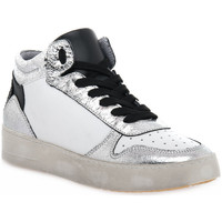 Chaussures Femme Baskets montantes At Go GO DUCK ARGENTO Grigio