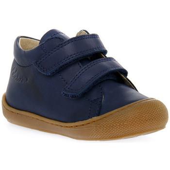 Chaussures Garçon Baskets basses Naturino 0C02 COCOON VL NAPPA NAVY Blu