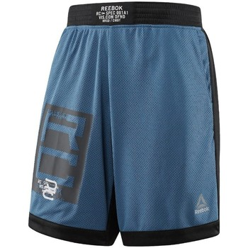 Vêtements Homme Shorts / Bermudas Reebok Sport Combat Boxing Bleu