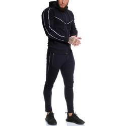 Vêtements Homme Pantalons de survêtement Monsieurmode Survêtement sport homme Survêt 13106 bleu marine Bleu