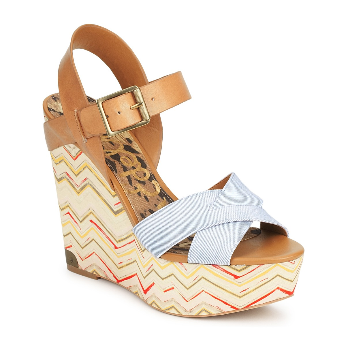 Sandale Sam Edelman SASHA DENIM-WASHED
