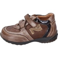 Chaussures Garçon Baskets mode Nero Giardini sneakers cuir marron