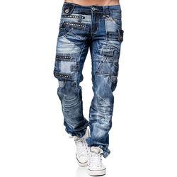 Vêtements Homme Jeans Kosmo Lupo Jean  fashion Jean KL001 bleu Bleu
