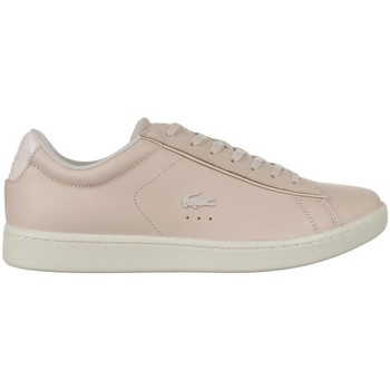 Chaussures Femme Baskets basses Lacoste Carnaby Evo 417 1 Spw Beige